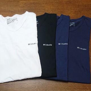コロンビア(Columbia)の   Columbia コロンビア Tシャツ インナー4枚セット(Tシャツ/カットソー(半袖/袖なし))