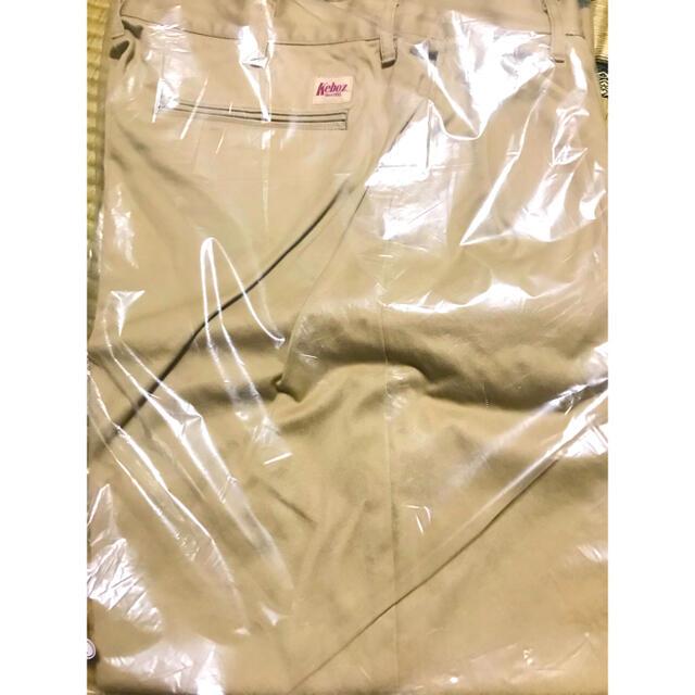FREAK'S STORE(フリークスストア)のKEBOZ新作!WEST WIDE TAPERD PANTS【BEIGE】 メンズのパンツ(ワークパンツ/カーゴパンツ)の商品写真