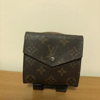 ルイヴィトン(LOUIS VUITTON)のルイヴィトン モノグラム 折り財布(折り財布)