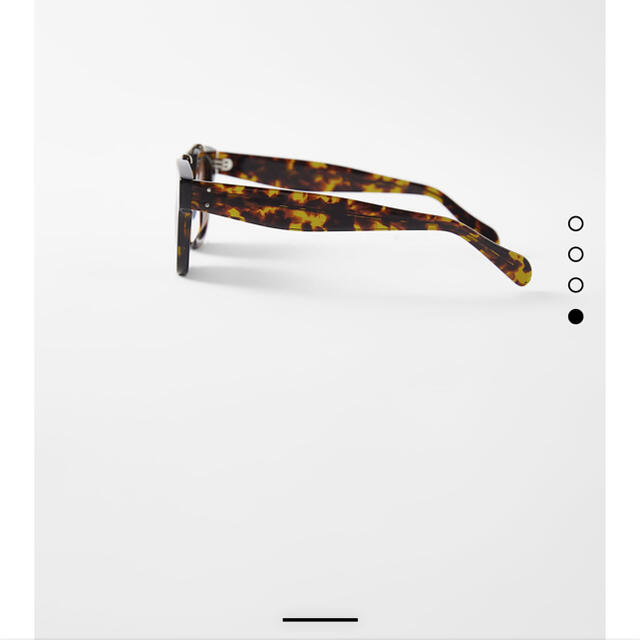 ZARA(ザラ)のZARA アセテートサングラス レディースのファッション小物(サングラス/メガネ)の商品写真