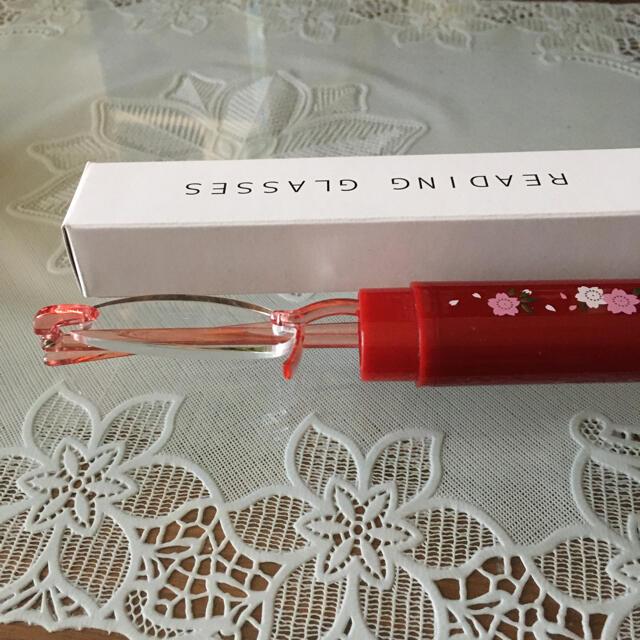 老眼鏡 シニアグラス 1.5 2.0 2.5  コンパクト レディースのファッション小物(サングラス/メガネ)の商品写真
