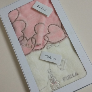 Furla - フルラ FURLA タオルハンカチ 2枚セット