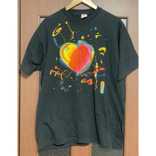 希少!美品 90s フルーツボディ ピーターマックス Tシャツ