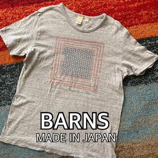 Barns OUTFITTERS - BARNS バーンズ プリント Tシャツ barns 日本製