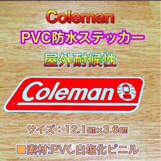 Coleman - コールマン pvc屋外耐候性 防水ステッカー①②