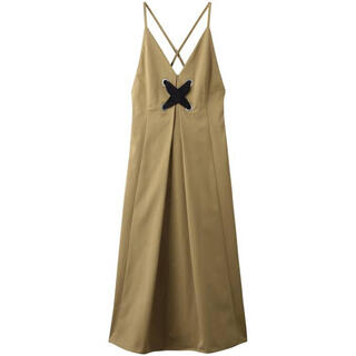LE CIEL BLEU - ルシェルブルービックレースキャミソール ドレス