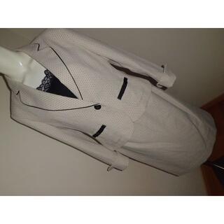 素敵3枚★L11AR★薄いベージュドットスカートスーツ入学式フォーマルスーツ(スーツ)