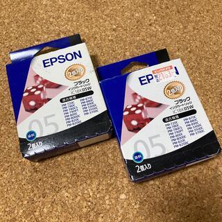 エプソン(EPSON)のEPSON インクカートリッジ 黒(PC周辺機器)