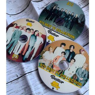 防弾少年団(BTS) - BTS 最新DVD butter 3枚セット⭐️チャプター付き高画質💕2021