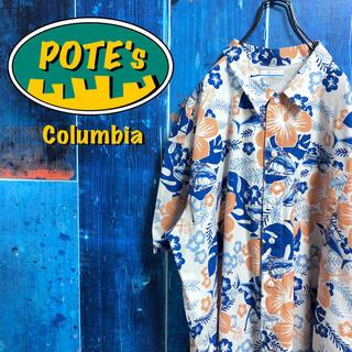 コロンビア(Columbia)の【コロンビア】PFGシリーズレイフィッシュ柄花柄半袖総柄フィッシングシャツ(シャツ)