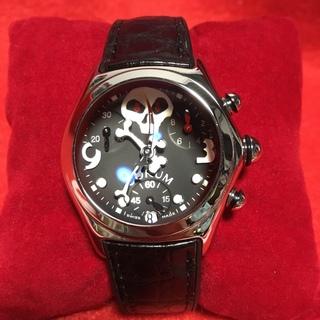 コルム(CORUM)のCORUM  コルム  バブル ジョリーロジャー 1000本限定  クォーツ(腕時計(アナログ))