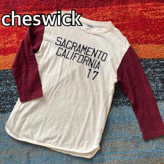 トウヨウエンタープライズ(東洋エンタープライズ)のcheswick チェスウィック 東洋 フットボールTシャツ カットソー(Tシャツ/カットソー(七分/長袖))