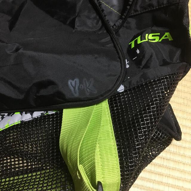 TUSA(ツサ)のTUSA ダイビング メッシュバック キャリー 水濡れ可 訳あり特価 スポーツ/アウトドアのスポーツ/アウトドア その他(マリン/スイミング)の商品写真