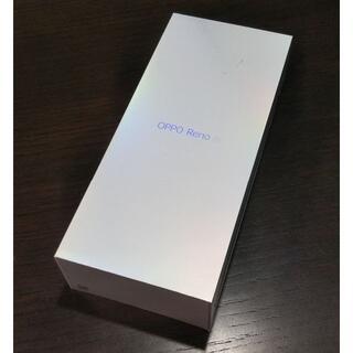 OPPO - 新品未使用・未開封☆OPPO Reno A ブラック 購入明細書付 SIMフリー