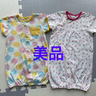ニシマツヤ(西松屋)のカバーオール ベビー服 新生児 ツーウェイオール 出産準備(ロンパース)