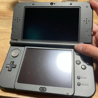 ニンテンドウ(任天堂)の3DS LL 黒(携帯用ゲーム機本体)