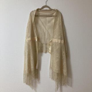 羽織り ショール ストール 結婚式 パーティー(マフラー/ショール)