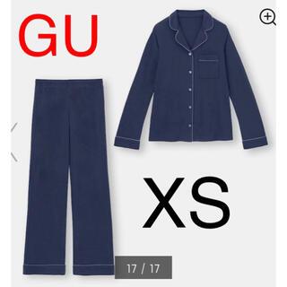 ジーユー(GU)の(新品) GU カットソーパジャマ(長袖) XS(パジャマ)