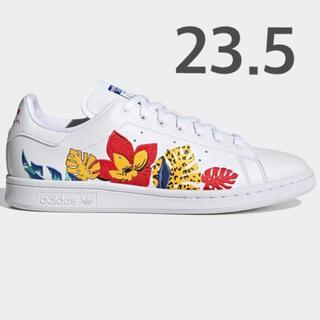 adidas - スタンスミス 花 刺繍 スニーカー