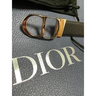 DIOR HOMME - 美品定番ディオールdiormen ディオールオムCDベルト80リバーシブル