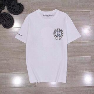 クロムハーツ(Chrome Hearts)のサイズL白 クロムハーツTシャツ(Tシャツ/カットソー(半袖/袖なし))