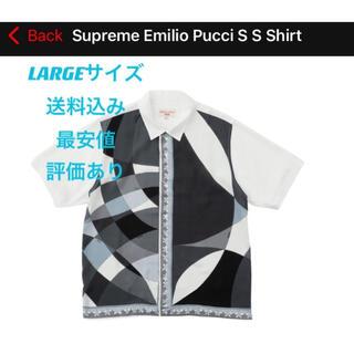 Supreme - 【最安値】supreme emilio pucci s/s shirt