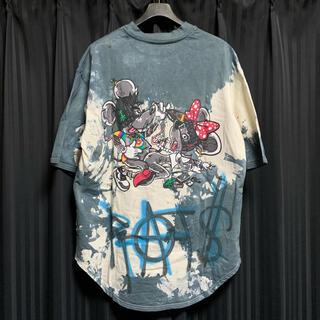 【cvtvlist】dope rat's ブリーチTシャツ セット
