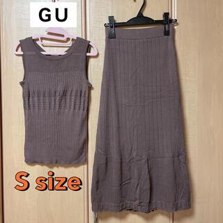 ジーユー(GU)のGU レーストップス スカート Sサイズ(セット/コーデ)
