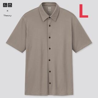 ユニクロ(UNIQLO)のユニクロ セオリー エアリズムスリムフィットフルオープンポロシャツ(ポロシャツ)