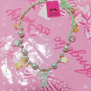 Angelic Pretty - Jelly Candy Toys ネックレス ミント