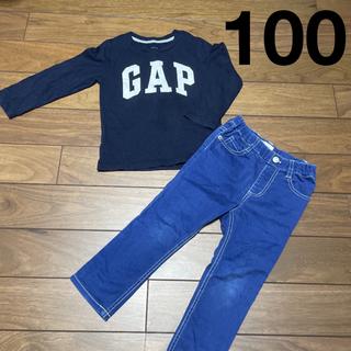 ベビーギャップ(babyGAP)のベビーギャップ  ロンT セラフ ズボン 2点セット(Tシャツ/カットソー)