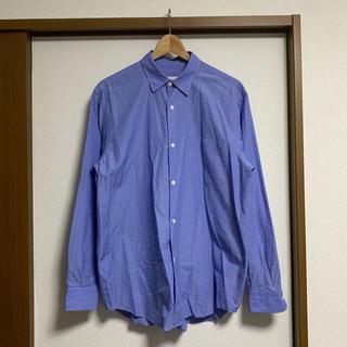COMOLI - COMOLI 20AW コモリシャツ サックス サイズ2