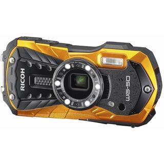 リコー(RICOH)のRICOH 防水デジタルカメラ RICOH WG-50 オレンジ 防水14m(コンパクトデジタルカメラ)