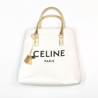 セリーヌ(celine)のセリーヌ CELINE ロゴトート バッグ ロゴ キャンバスバッグ ハンドバッグ(ハンドバッグ)