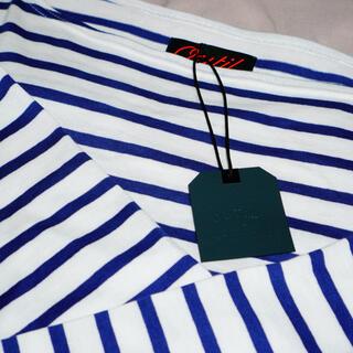 COMOLI - outil tricot aast バスクシャツ ネイビー サイズ2