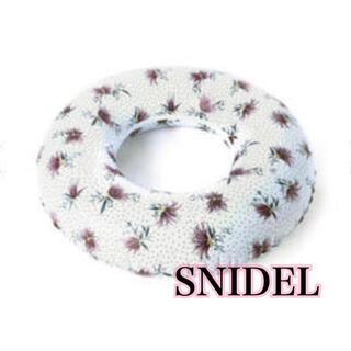 snidel - SNIDEL 花柄×ドット フロート 浮き輪 浮輪 スナイデル