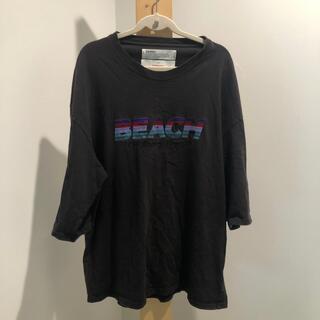 dairiku 20SS beach Tシャツ