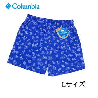 コロンビア(Columbia)の新品 Lサイズ コロンビア ウォーター ショーツ ブルー(ショートパンツ)