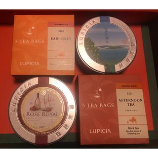 LUPICIA - ルピシア LUPICIA 紅茶 フレーバードティー 4個