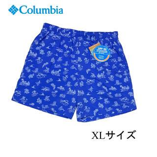 コロンビア(Columbia)の新品 XLサイズ コロンビア ウォーター ショーツ ブルー(ショートパンツ)
