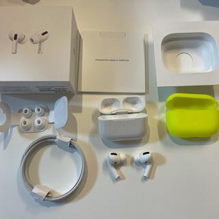 Apple - AirPods Pro  カバー付き