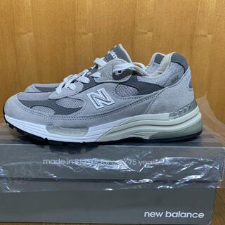 ニューバランス(New Balance)のnew balance ニューバランス m992 GR made in USA(スニーカー)