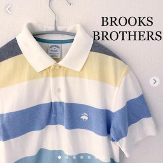 ブルックスブラザース(Brooks Brothers)のBROOKS BROTHERS ブルックスブラザーズ ポロシャツ 半袖 XS (ポロシャツ)
