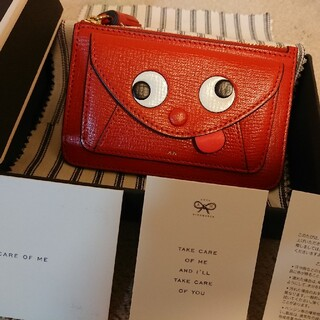 ANYA HINDMARCH - 新品・未使用☆アニヤ Zany Envelope Zip Card Case
