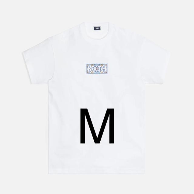 Supreme(シュプリーム)のKith Blue Moroccan Tile ClassicLogo Tシャツ メンズのトップス(Tシャツ/カットソー(半袖/袖なし))の商品写真