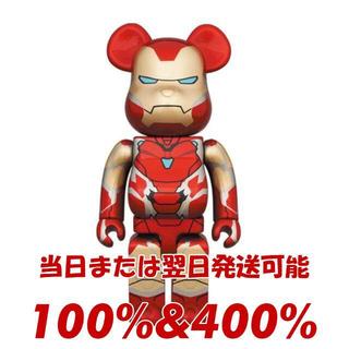 MEDICOM TOY - BE@RBRICK IRON SPIDER 100% & 400%