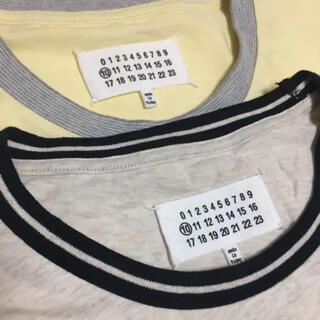 マルタンマルジェラ(Maison Martin Margiela)のMaison Margiela Sサイズ Tシャツ マルジェラ 2枚セット(Tシャツ/カットソー(半袖/袖なし))