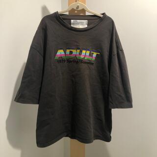 DAIRIKU 19ss ADULT  刺繍 Tシャツ(Tシャツ/カットソー(半袖/袖なし))