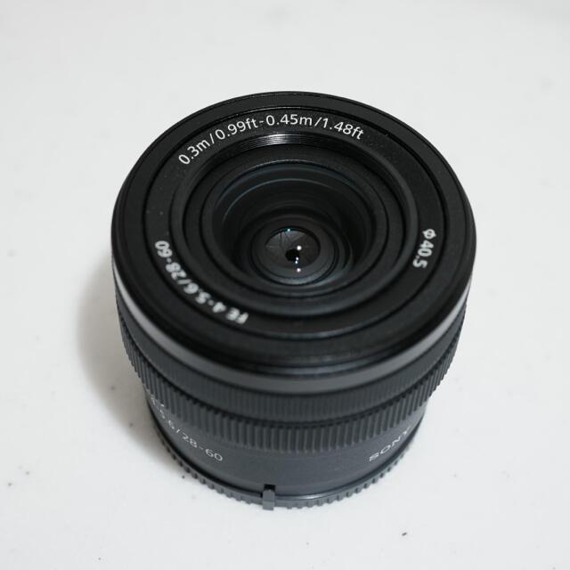 SONY(ソニー)のSony ソニー Eマウント FE 28-60mm F4-5.6 SEL2860 スマホ/家電/カメラのカメラ(レンズ(ズーム))の商品写真