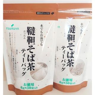 【 韃靼そば茶】 スーパーツルヤ長野 6g×30袋×2 セット(茶)